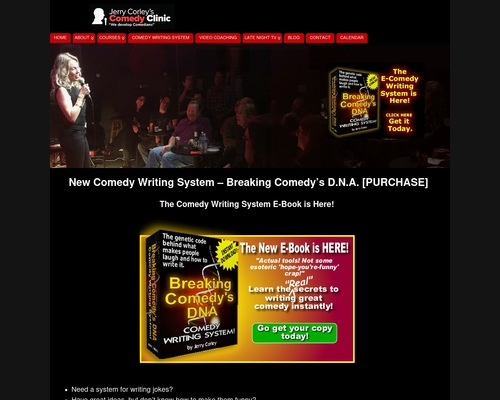 Photo of New Comedy Writing System – Breaking Comedy's D.N.A. [PURCHASE] – Stand Up Comedy Clinic